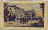AK Zürich Hennebergpalast und rotes Schloss Pferdekutsche ZH Schweiz 1911