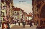 AK Bozen Bolzano Obstmarkt Südtirol Italien 1913