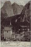 AK Hinterbärenbad im Kaisertal bei Kufstein Tirol Österreich 1911