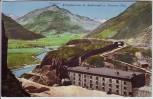 AK Andermatt Blick auf Kaserne Uri UR Schweiz 1911