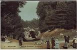 AK Bruxelles Brüssel Bois de la Cambre Grand Ravin Belgien 1910