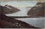 AK Hilsen fra Nordland Svartisen Norwegen 1910