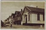 AK Foto Haugesund Metodistkirken Straßenansicht mit Kirche Rogaland Norwegen 1940 RAR