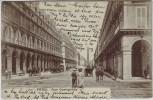 AK Paris Rue Castiglione Frankreich 1910