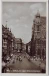 AK Foto Wien Stefansplatz gegen Rotenturmstrasse Österreich 1941