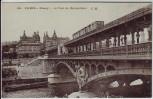 AK Paris Passy Le Pont du Metropolitain Frankreich 1910