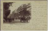 AK Paris Boulevard Montmartre Frankreich 1901