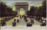 AK Paris L'Arc de Triomphe et les Champs-Elysees Frankreich 1910