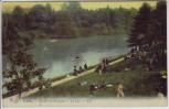 AK Paris Au Bois de Boulogne Le Lac Frankreich 1910