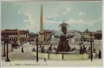 AK Paris Place de la Concorde Frankreich 1910