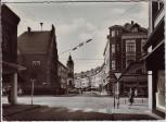 AK Foto Dinslaken Rathaus und Duisburger Straße 1960