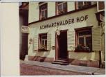 AK Foto Freiburg im Breisgau Hotel Schwarzwälder Hof Herrenstraße 1970