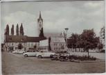 AK Foto Roßlau (Elbe) Marktplatz Trabant Wartburg 1974