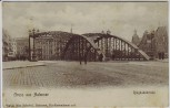 AK Berlin Gruss aus Halensee Ringbahnbrücke 1910 RAR