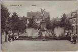 AK Offenbach am Main Aliceplatz mit Menschen 1910