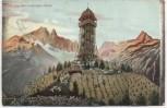 AK Leipzig Gruss aus den Leipziger Alpen Scherbelberg Rosental 1909
