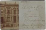 AK Foto Bremen Hausansicht Celler Strasse 40 1910 RAR
