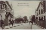 AK Nordseebad Cuxhaven Marienstrasse mit Kur-Hotel Menschen Niedersachsen 1913 RAR