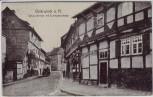 AK Osterwieck am Harz Schulzenstraße mit Eulenspiegelhaus 1916
