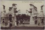 AK Hamburg-Stellingen Carl Hagenbeck's Tierpark Haupteingang 1910
