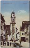 AK Mittenwald an der Isar Obermarkt 1910