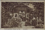 AK Erziehungsinstitut Neuhaus am Inn Gartenhaus mit Frauen 1910 RAR
