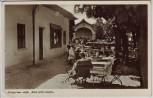 AK Bad Wörishofen Kurgarten-Cafe Dillian mit Menschen 1940