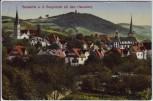 AK Bensheim a. d. Bergstraße Ortsansicht mit Hemsberg Feldpost 1915