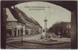 AK Solbad Frankenhausen am Kyffhäuser Der Hermannbrunnen 1909