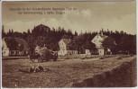 AK Sommerfrische Jägerhaus bei Schwarzenberg Heuernte Erzgebirge Sachsen 1920 RAR