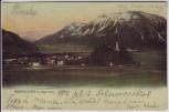 AK Ruhpolding Ortsansicht mit Rauschberg 1914