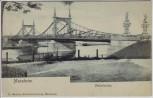 AK Mannheim Neckarbrücke 1910