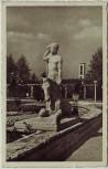 AK Essen Reichsgartenschau Der Fohlenhüter Plastik von Adolfs 1938