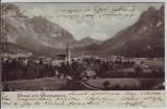 AK Gruss aus Großgmain Ortsansicht Salzburg Österreich 1904