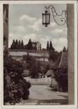 AK Foto Meersburg am Bodensee Blick auf Annette Droste's Fürstenhäusle 1951