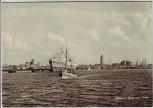 AK Foto Wismar Blick zum Hafen mit Schiffen 1967