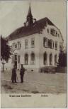 AK Gruss aus Sundheim Schule mit Soldaten bei Kehl 1920 RAR