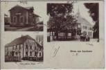 AK Gruss aus Sundheim Bahnhof Ortsansicht bei Kehl 1920 RAR
