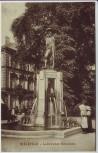 AK Bielefeld Leineweber-Brunnen mit Menschen 1910