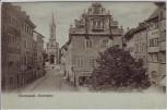 AK Konstanz am Bodensee Obermarkt 1912