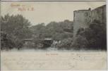 AK Halle an der Saale Neue Saalebrücke 1898