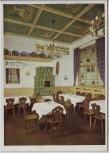 AK München Rheinhof-Bierstuben im Hotel Rheinischer Hof Teilansicht des Tölzer-Stüberl 1937