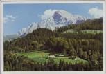AK Obersalzberg bei Berchtesgaden Blick auf Berghof Haus Wachenfeld 1935