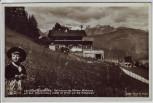 AK Foto Obersalzberg bei Berchtesgaden Berghof Wachenfeld mit Kind 1934
