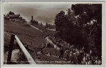 AK Foto Obersalzberg bei Berchtesgaden Berghof Wachenfeld viele Menschen 1934