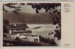 AK Foto Obersalzberg bei Berchtesgaden Blick auf Berghof Haus Wachenfeld 1935