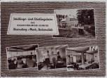 AK Mehrbild Rheinsberg Erholungsheim Untermühle 1963