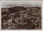 AK Foto Erling mit Kloster Andechs Flugzeugaufnahme 1950