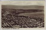 AK Foto Konstanz am Bodensee Flugzeugaufnahme Luftbild 1930