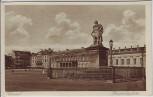 AK Kassel Cassel Friedrichsplatz mit Denkmal 1920